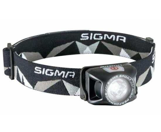 Sigma Headled II fejlámpa, USB-ről tölthető, 120 lumen