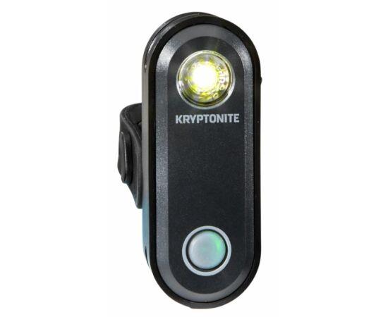 Kryptonite Avenue F-65 USB-ről tölthető első lámpa, 65 lumen, fekete