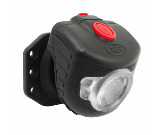 NiteRider Adventure Pro fejlámpa, 180 lumen, USB-rõl tölthető, fekete