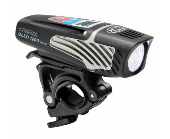 NiteRider Lumina™  1200 Oled Boost első lámpa, 1200 lumen, USB-rõl tölthető, fekete