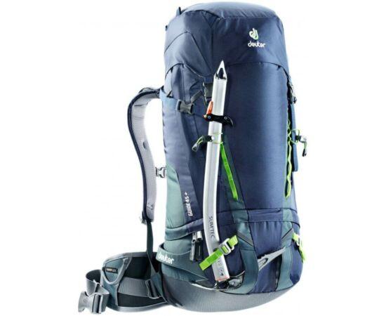 Deuter Guide 45+ kerékpáros hátizsák, 45+8L, sötétkék-szürke (navy-granite)
