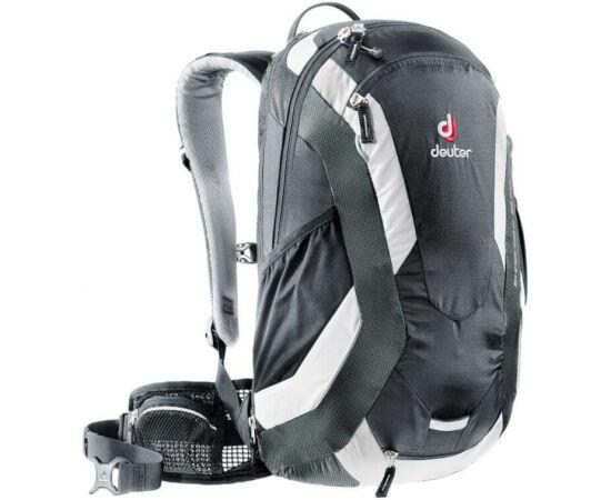 Deuter Trans Alpine kerékpáros hátizsák, 30L, fekete-szürke