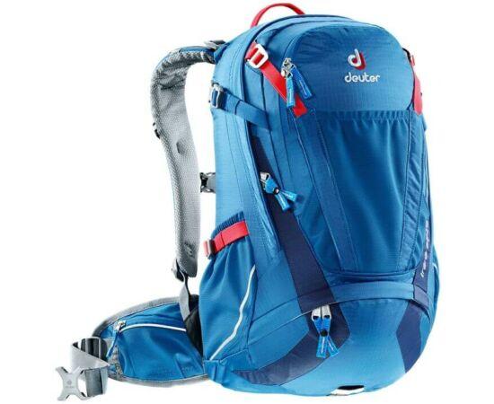 Deuter Trans Alpine 24 kerékpáros hátizsák, 24L, kék (bay-midnight)
