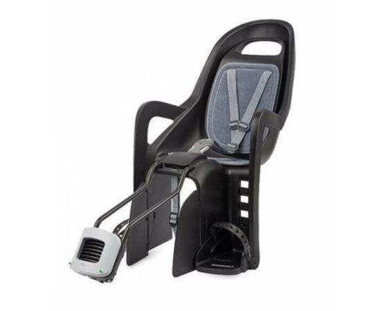 Polisport Groovy FF adapteres gyerekülés (vázra) fekete-szürke, '17 konzollal