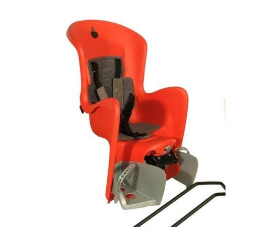 Polisport Bilby adapteres gyerekülés (vázra) piros-ezüst