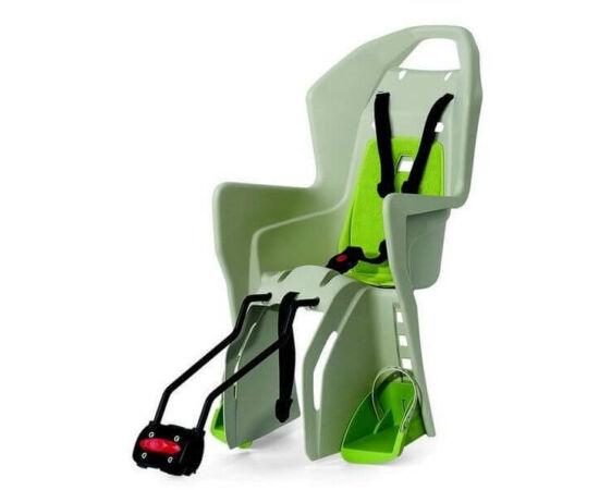 Polisport Koolah adapteres gyerekülés (vázra), 29-es kerékpárra, krém-világos zöld