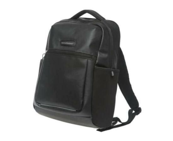 NewLooxs Nevada Black csomagtartóra akasztható hátizsák, 25L, fekete