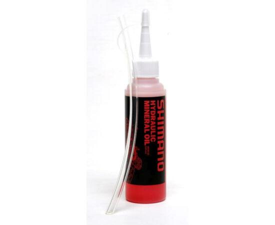 Shimano ásványi fékfolyadék gumicsővel, 50 ml