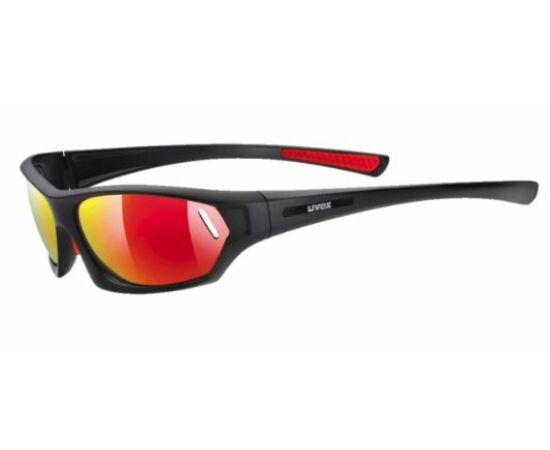 Uvex Sportstyle 503 kerékpáros sportszemüveg, fekete-piros, S3 lencsével