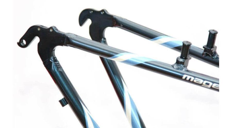 7cd3f6585ec4 Magellan Hydra Női kerékpár váz Kék 16 col