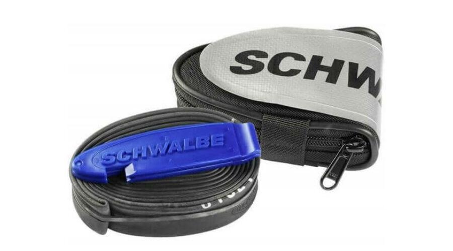 5ec317c8cd3c Schwalbe országúti nyeregtáska kerékpár belsővel (SV15) és 2 db  gumileszedővel