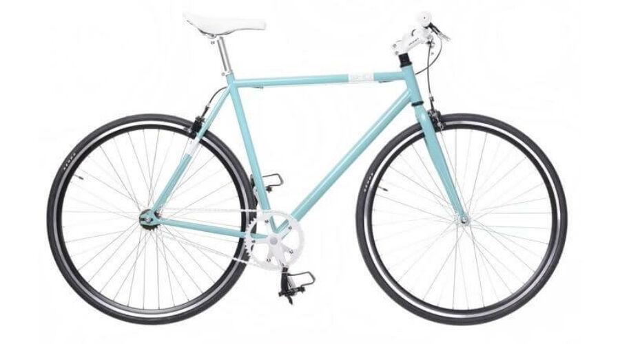 9f93e4e50fb4 Neuzer Skid férfi 700c fixi kerékpár, acél, 48 cm, celeste-fehér