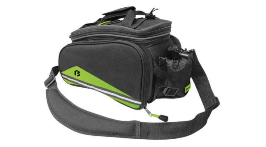 680f7c949be0 Bikefun Expansion egy-három részes túratáska csomagtartóra, 8-26L,  fekete-zöld