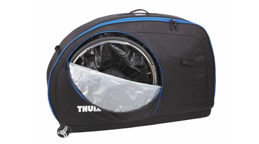 b058c57f66de Thule RoundTrip Traveler kerékpárszállító gurulós táska, fekete