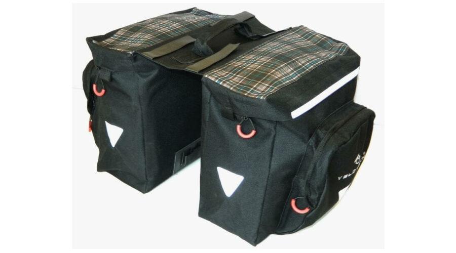 Velotech két részes túratáska hátsó csomagtartóra 467049ffef
