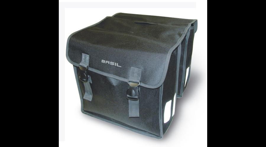 7628d4f17944 Basil Mara XL két részes táska csomagtartóra, 35L, fekete