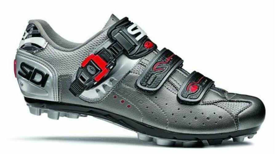 Sidi EAGLE 5 Pro MTB 44-es kerékpáros cipő Ezüst d868d7a21b