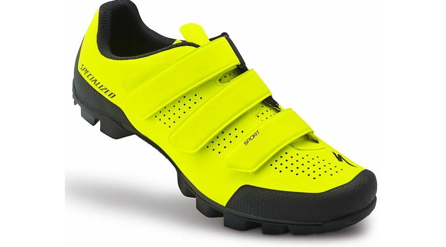 af61029d07 Specialized Sport MTB kerékpáros cipő, neon sárga-fekete, 44-es